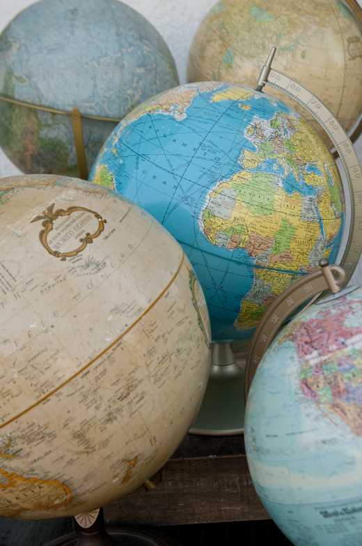 Vintage Globes in all Shapes and Sizes | D.L. Rhein