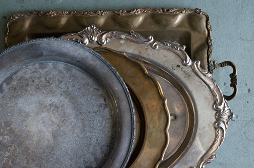 Vintage trays serve many purposes | D.L. Rhein
