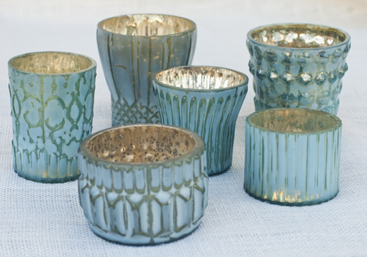 Votives brighten up anyone's table, mantel piece, or night table | D.L. Rhein