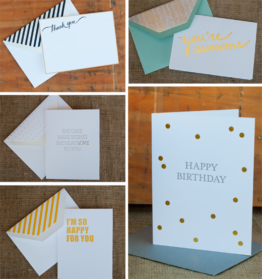 Letter Press from Sugar Paper! Yup - It's in our Stores! | D.L. Rhein