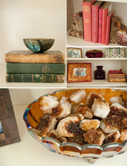 It's the little things that keeps your shelves interesting | D.L. Rhein