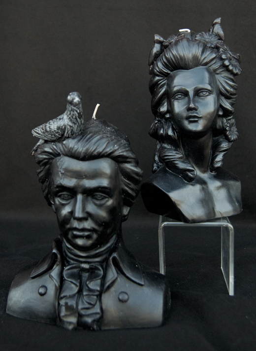 Line your mantle piece with these eerie candles | D.L. Rhein