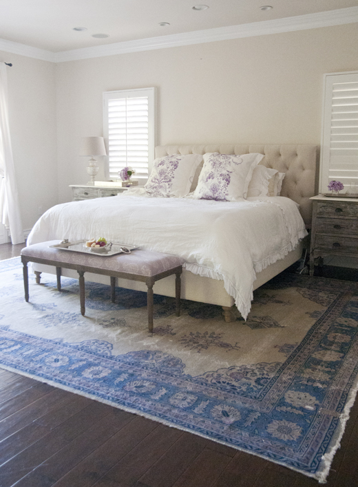 Find peace and comfort in a simple master bedroom | D.L. Rhein