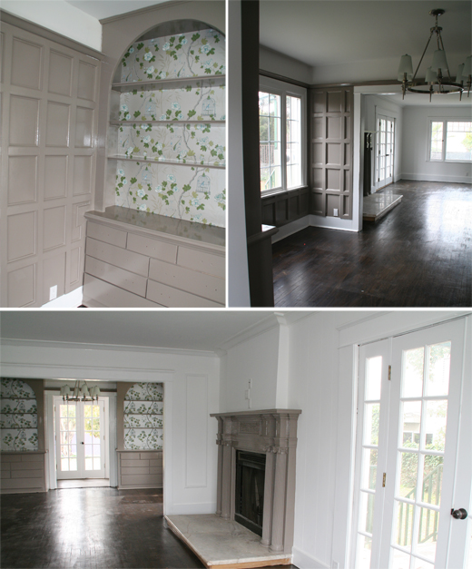 The joys of wallpaper and paint to create a simple make over | D.L. Rhein