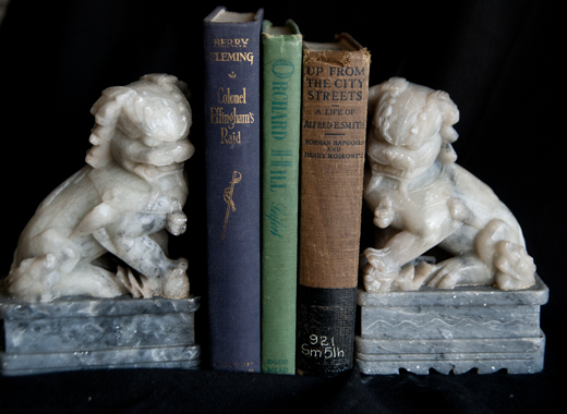 Bookends are a great addition to any bookcase | D.L. Rhein