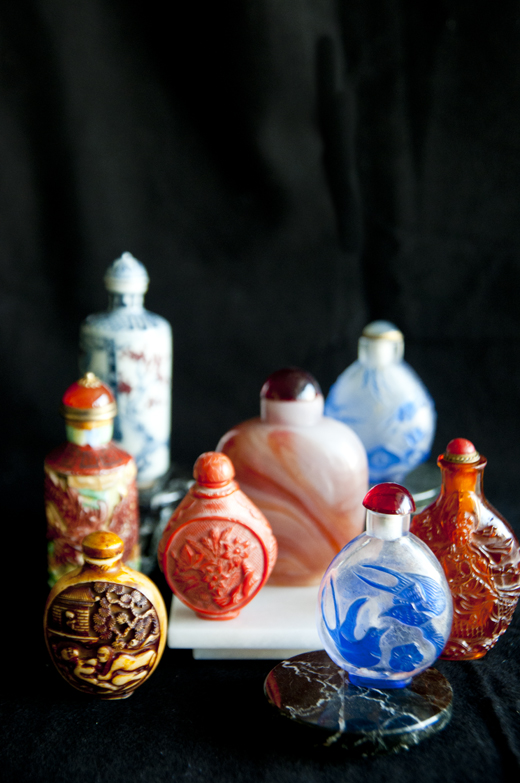 A collection of beautiful bottles looks good in almost any room in a house | D.L. Rhein