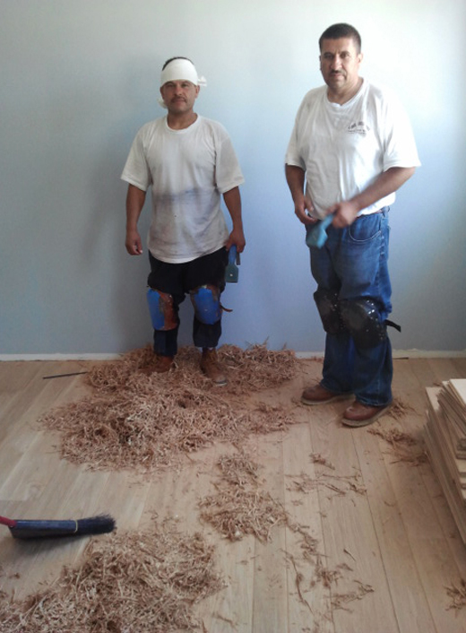 The masterminds behind these floors | D.L. Rhein