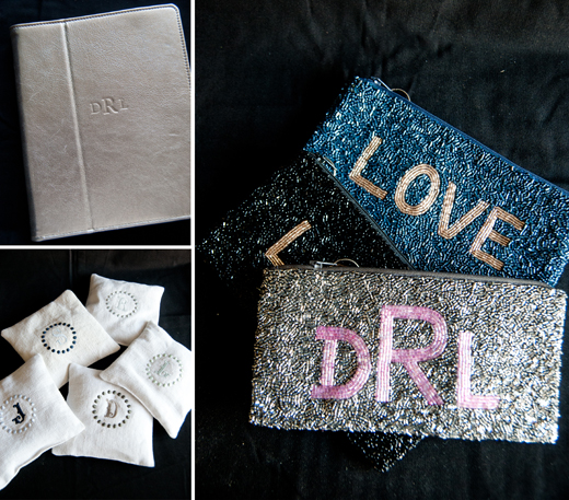 Gifts feel more personalized when they are monogrammed | D.L. Rhein