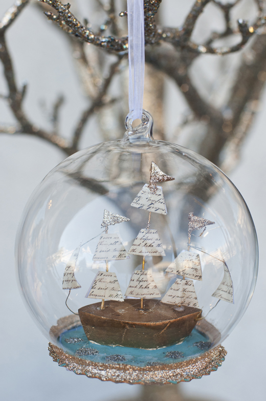 Sail Away Christmas Ornament | D.L. Rhein