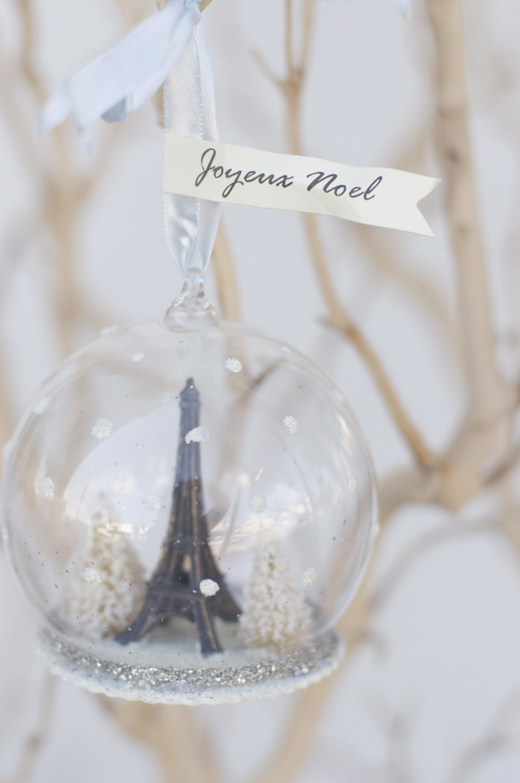 Paris Christmas Ornament | D.L. Rhein