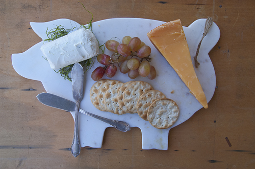 Every home should have a pig cheese board | @D.L. Rhein