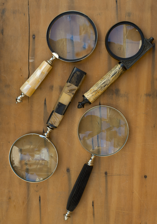 Beautiful Book Accessories - Magnifying Glasses | @DL Rhein