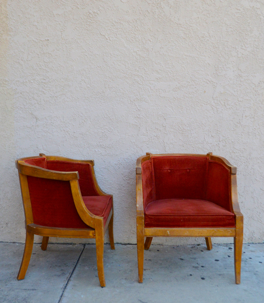 Two Lonely Chairs get a Makeover | @D.L. Rhein