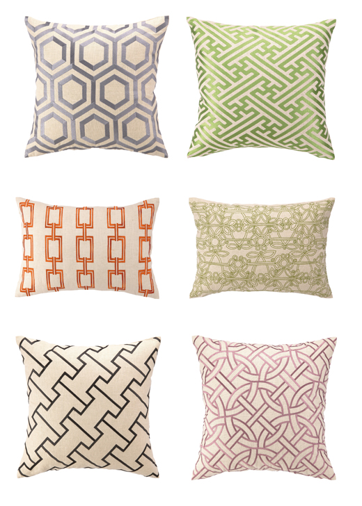 D.L. Rhein Pillows - Spring Collection 2013 | @D.L. Rhein