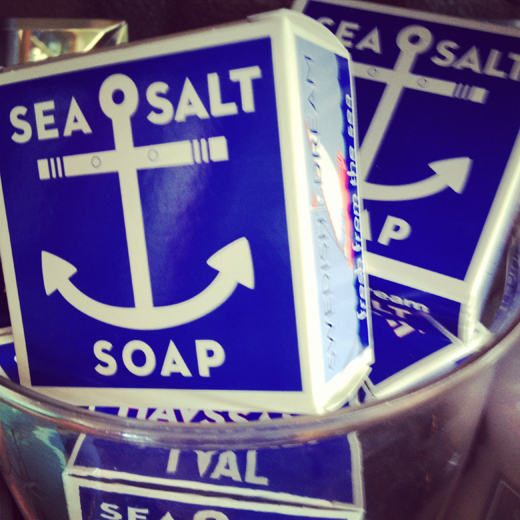 Sea Salt Soap | DL Rhein
