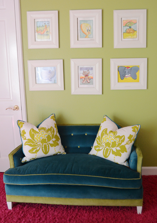Framed Children's Art - Always a Conversation Piece | @D.L. Rhein