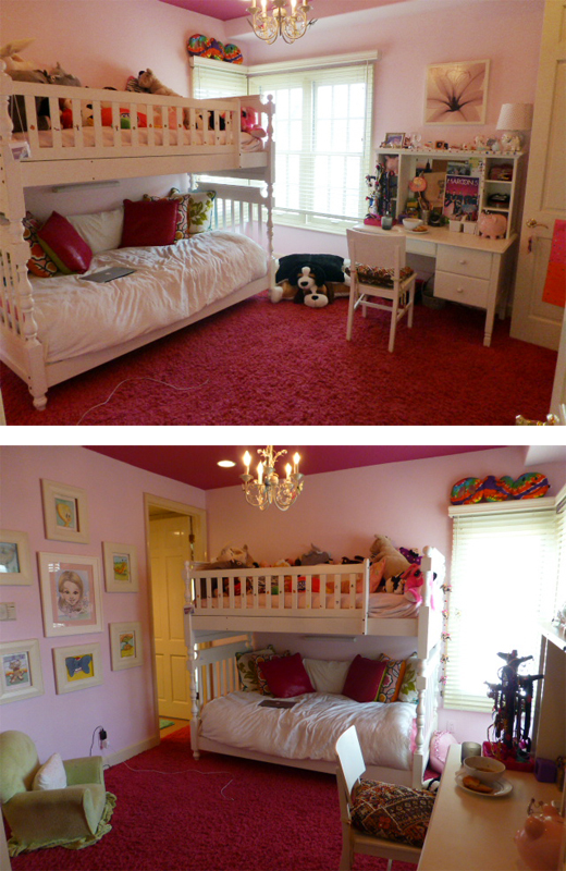 A baby room #makeover. Watch the transformation | @D.L. Rhein
