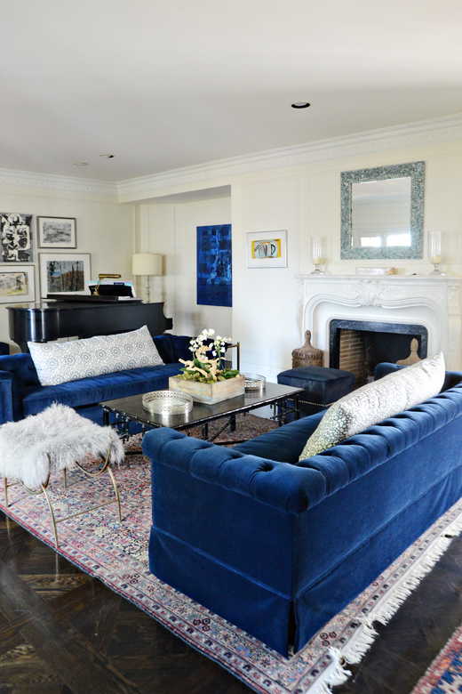 A gorgeous living room deserves gorgeous sofas | @D.L. Rhein