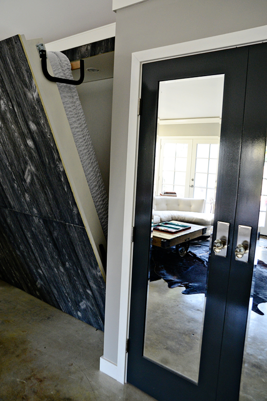 A Murphy Bed is the perfect solution to a room with limited space. Read here for this two for one look! #murphybed #makeover | @D.L. Rhein