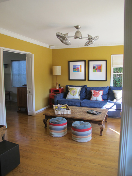 BEFORE | Primary Colors Living Room | #dlrhein