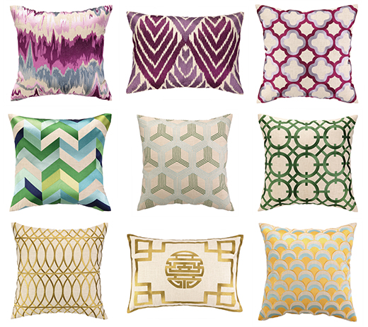 Pillows by Color A
