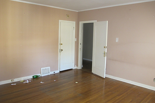 BEFORE | MASTER BEDROOM