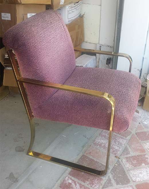 BEFORE | Vintage Chrome Chair