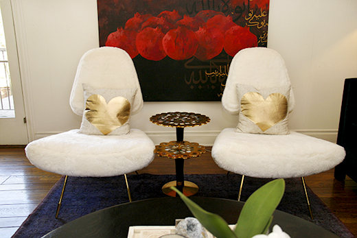 One of our favorite chairs!  #JonathanAdler #Maximeloungechair
