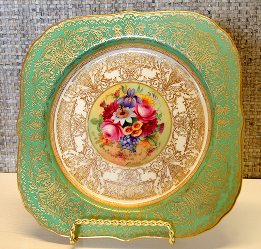 Original China from the Doheny Family at Greystone Mansion | D.L. Rhein