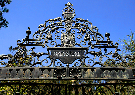 Greystone Mansion Entrance | D.L. Rhein