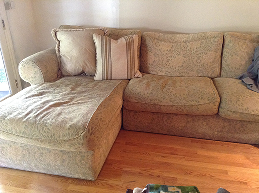 Before - Sectional Chaise