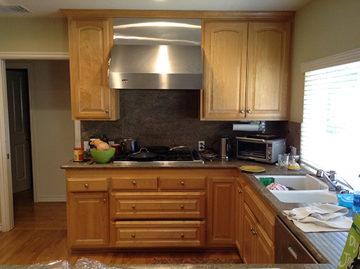 BEFORE | ENCINO KITCHEN