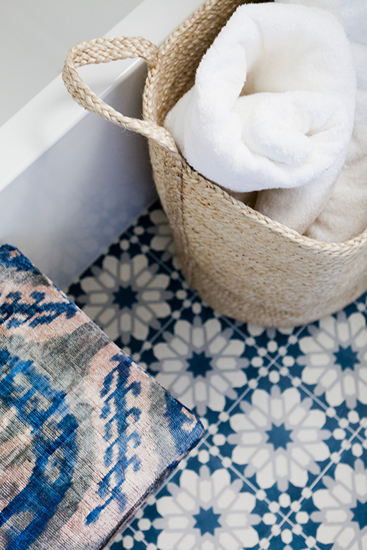 Natural Jute Baskets, Our Favorite Way To Store Towels | D.L. RHEIN