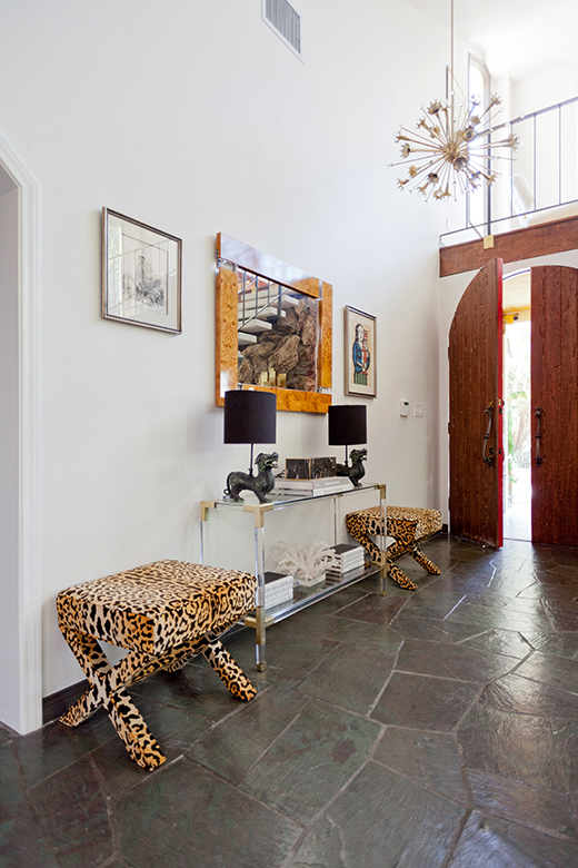 FOYER - AFTER | WOODLAND HILLS | D.L. RHEIN