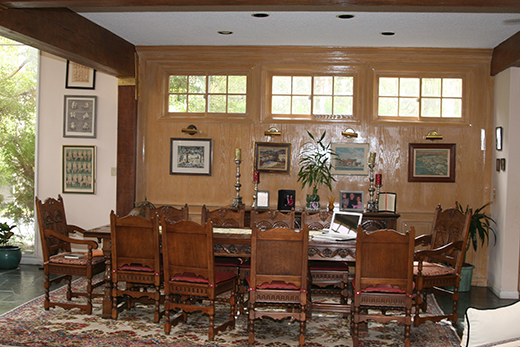 Before   Dining Room   Woodland Hills