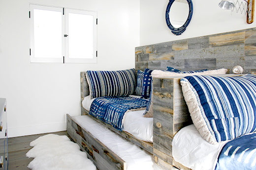 BEACH HOUSE KIDS ROOM | MALIBU | DESIGN BY D.L.RHEIN, PHOTO BY ALLEN NALASCO