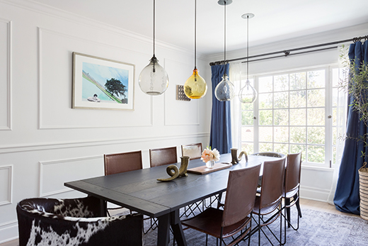 DINING ROOM | ENCINO, CA. | DESIGN BY D.L. RHEIN, PHOTO BY AMY BARTLAM