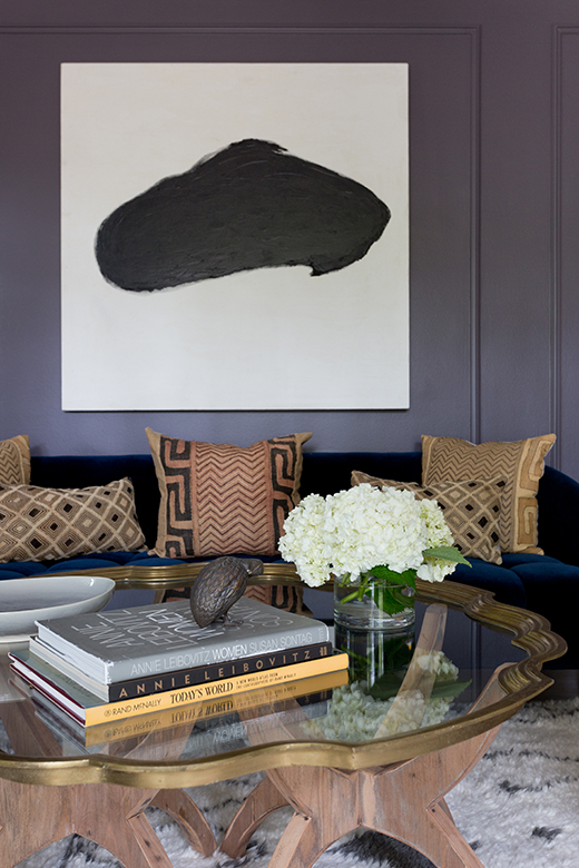 Living Room | Encino | Design by D.L. Rhein, Photo by Amy Bartlam