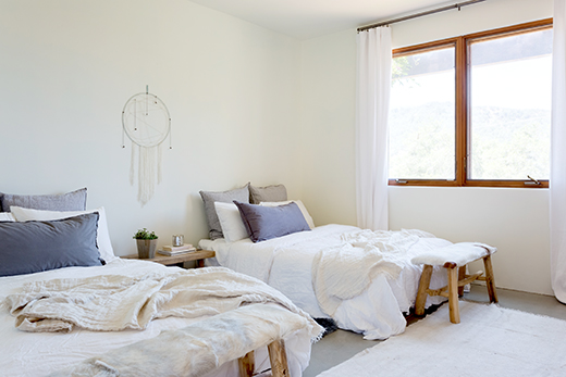 Guest Room | Ojai | Design by D.L. Rhein, Photo by Amy Bartlam
