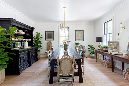 PASADENA | DINING ROOM | DESIGN BY D.L. RHEIN, PHOTO BY AMY BARTLAM