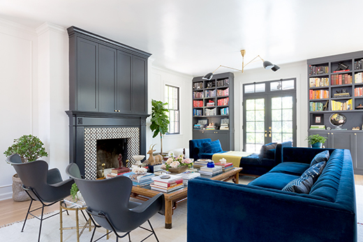 PASADENA | LIVING ROOM | DESIGN BY D.L. RHEIN, PHOTO BY AMY BARTLAM