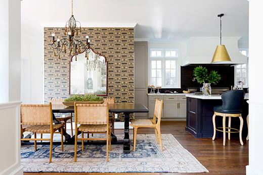 KITCHEN & DINING | HANCOCK PARK | Design by D.L. RHEIN, Photo by Amy Bartlam